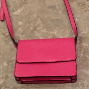 Forever 21 bright pink Mini crossbody bag.